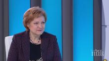 Менда Стоянова: Бюджетът за 2019 година е един от най-добрите в последните 10 години
