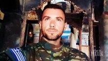 """Погребаха убития в Албания грък със скандирания """"Македония е гръцка!"""""""