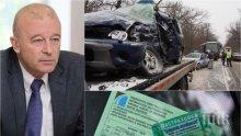 """ГОРЕЩА ТЕМА: Транспортен зам.-министър обяви: """"Терористите"""" на пътя ще плащат с 400% повече за """"Гражданска отговорност"""""""