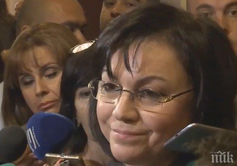 ПОЛИТИЧЕСКИ ИСКРИ: Корнелия Нинова не мирясва - сърди се, че не е г-жа Лъжа