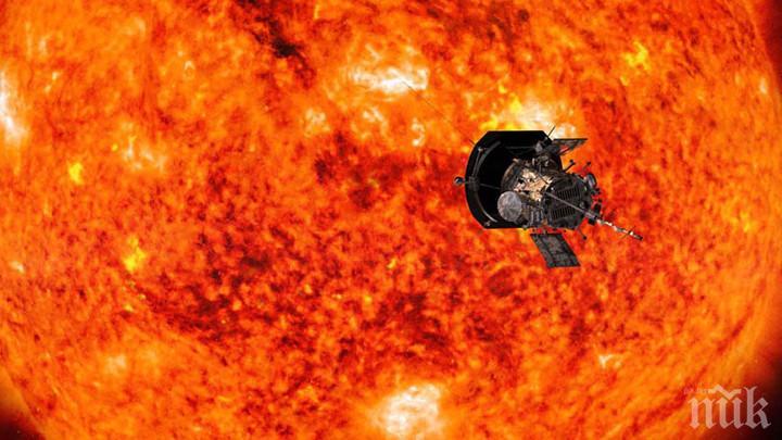 """Сондата """"Паркър"""" на НАСА подобри рекорда си за доближаване до Слънцето"""