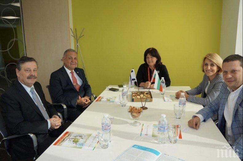 Илиан Тодоров се срещна с ректора и президента на Международното висше бизнес училище  Ботевград