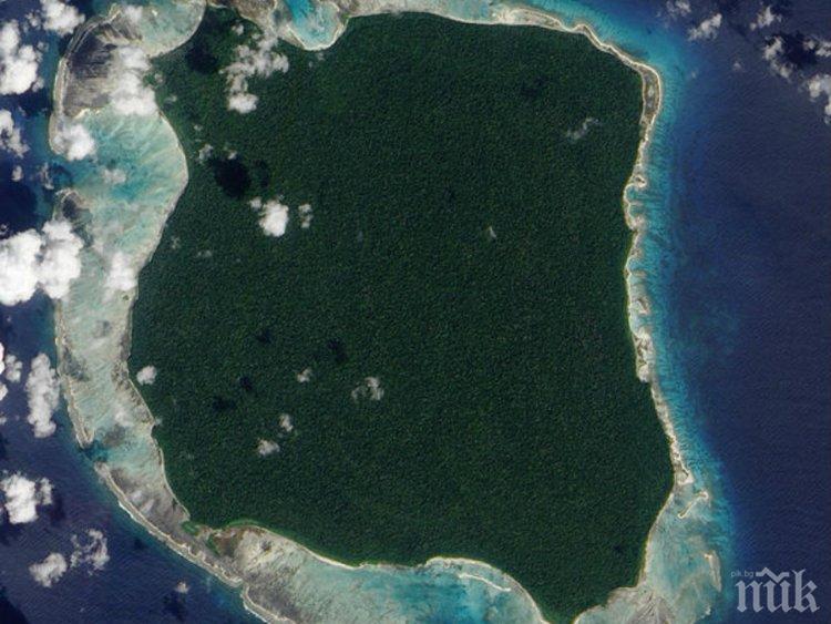 Вижте острова, до който никой не припарва
