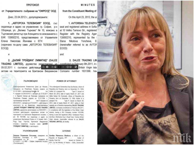 САМО В ПИК: Ето как Елена Йончева източвала КТБ с офшорки (ДОКУМЕНТИ)
