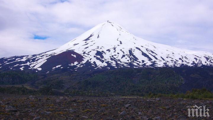 Наблюдават отблизо вулканите в Чили заради опасност от изригвания
