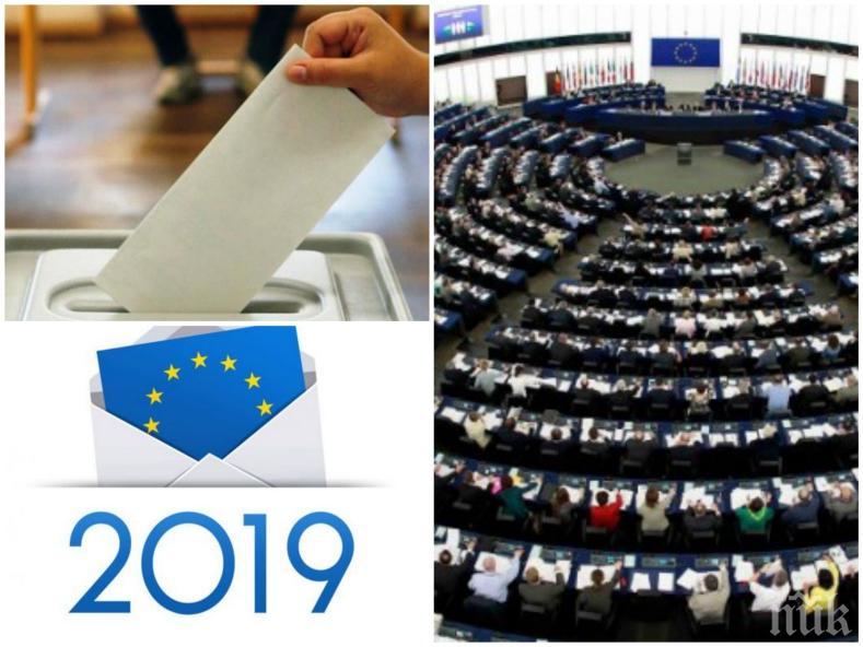 ИЗВЪНРЕДНО В ПИК: Горещо проучване - ГЕРБ води на БСП за европейските избори (ГРАФИКИ)
