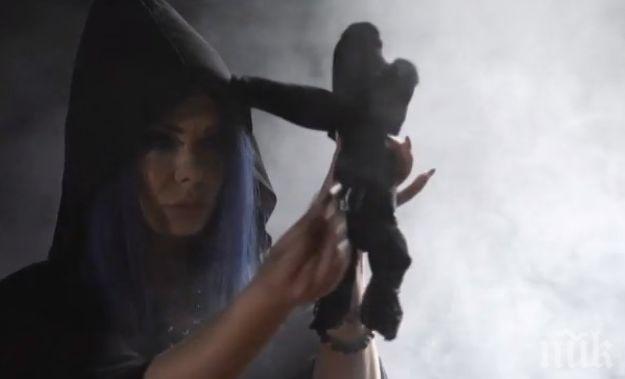 """ШОК И УЖАС В НОВИ ХАН! Вкараха магьосница в Къщата - Албена Вулева влезе с бурка в """"Биг Брадър"""" и заплаши съквартирантите с люти клетви"""