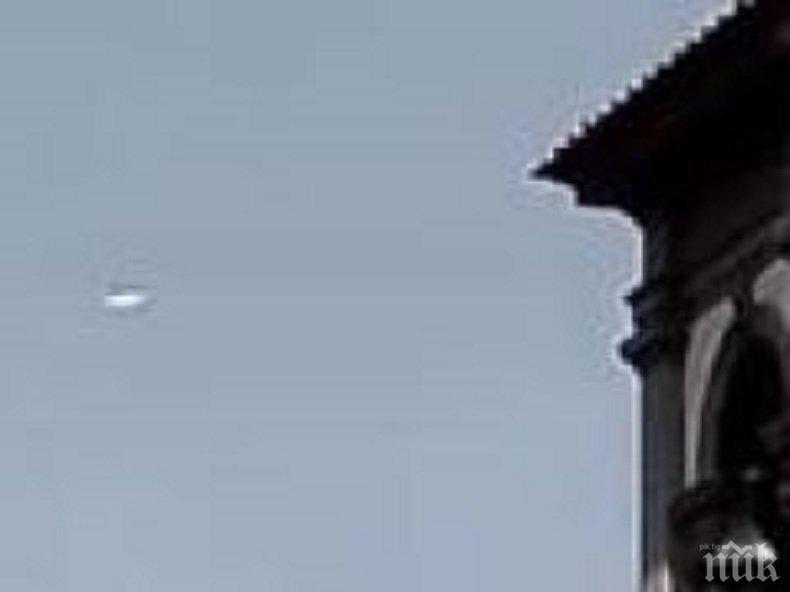СЕНЗАЦИОННО: Снимаха НЛО над Флоренция (СНИМКА)