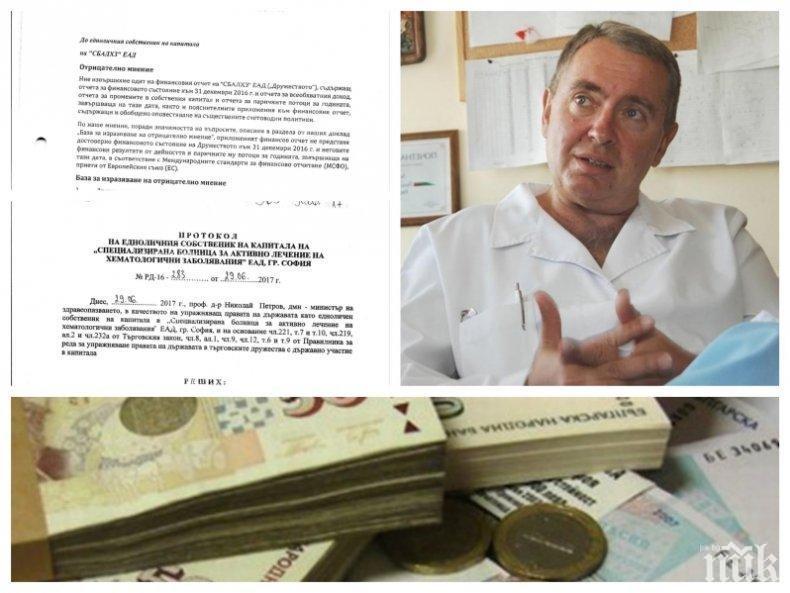 САМО В ПИК: Депутат от БСП погнат от прокуратурата след разкритие на медията ни - ето как Георги Михайлов затрил близо 23 млн. лева на столична болница (ДОКУМЕНТИ)