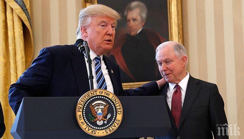 Доналд Тръмп уволни министъра на правосъдието на САЩ