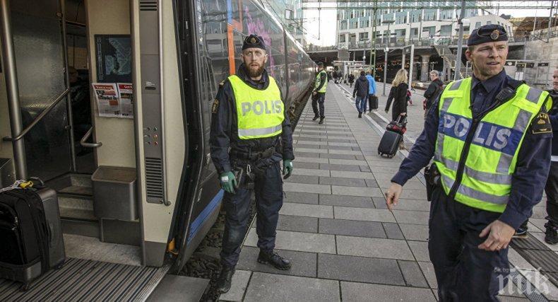 Швеция удължава с 3 месеца контрола по границата