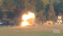 НЕВИЖДАНО: Показаха уникални кадри от атаката, запалила отново войната в Газа (ВИДЕО)