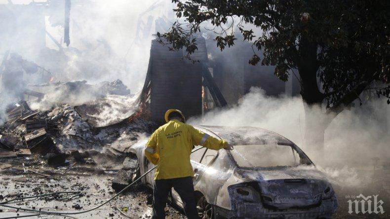 Откриха 5 тела след пожара в Калифорния