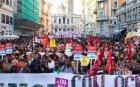 Хиляди ученици излязоха на протест срещу правителството в Италия