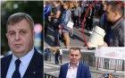 """РАЗКРИТИЕ В ПИК: Човек на Каракачанов организира протестите в Петрич - лидер на ВМРО в града блокира """"Кулата"""" с яки мъжаги от ултрасите на """"Левски"""" (ВИДЕО/СНИМКИ)"""