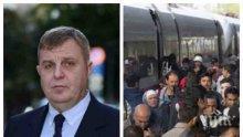 ЕКСКЛУЗИВНО В ПИК: Каракачанов разби на пух и прах пакта на ООН за миграцията: Намирисва на глобално преселение на народите!