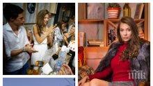 ПЪРВО В ПИК: Ето как синоптичката Никол Станкулова кръсти първородната си дъщеричка