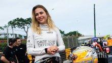 Шокиращо! 17-годишна състезателка си счупи гръбнака при жестока катастрофа на Формула 3