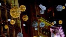 """Коледата е възможна в Лондон - вижте украсената """"Оксфорд стрийт"""" (ВИДЕО)"""