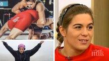 Шампионката по борба Тайбе Юсеин за успехите в спорта, за живота си и за страстта си към четенето