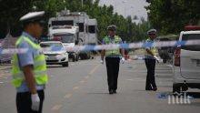 Девет загинали при верижна катастрофа с 28 автомобила в Китай