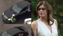 СЛЕД РАЗКРИТИЕТО НА ПИК: Ето какво съобщиха от президенството за екшъна с лимузината на Деси Радева (ВИДЕО)
