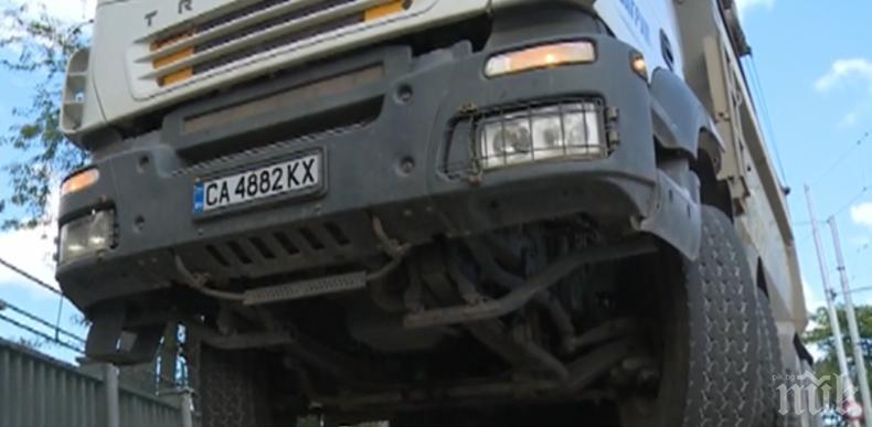 Катастрофа между ТИР и автомобил на пътя Плевен – Луковит след Долни Дъбник