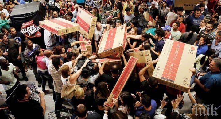 Пазаруването онлайн топи опашките за Черния петък в САЩ
