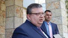Главният прокурор Сотир Цацаров на посещение в Турция - ще преговаря за Митьо Очите и спасяването на граничарите