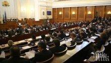Депутатите приеха бюджетите на министерския съвет и президентството за 2019 г.