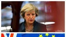Подкрепят Тереза Мей за Брекзит, ако хвърли оставка