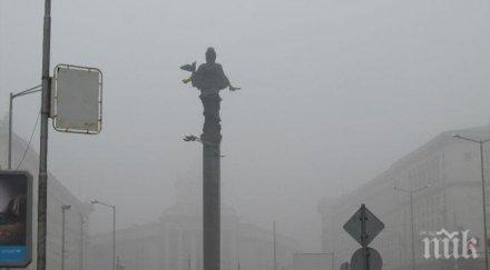 Мръсният въздух поглъща София в края на годината