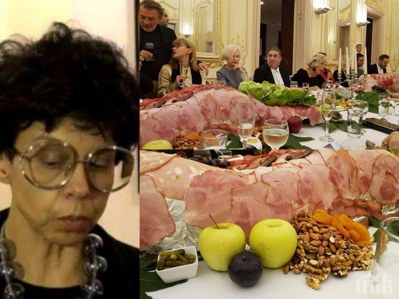 ГОРЕЩА ТЕМА: Яра Бубнова наглее след пира в Националната галерия - разгулният коктейл бил лакмус на изложбата