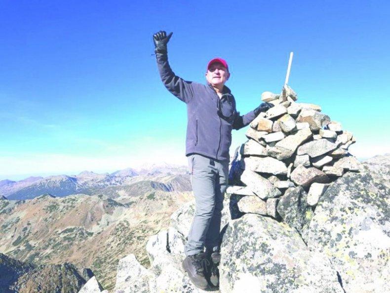 Димитър Главчев покори 10 върха за година
