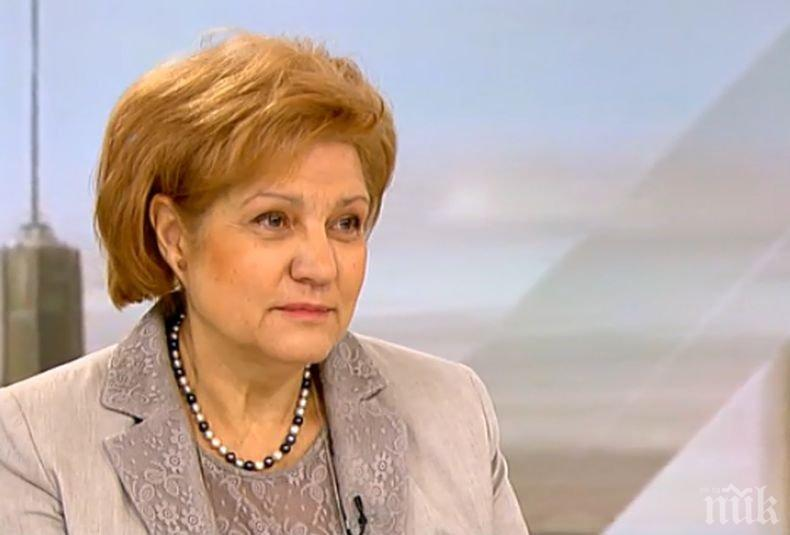 Менда Стоянова обвини БСП за инфарктното заседание в парламента за здравния бюджет - гласували против абсолютно всеки текст