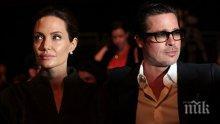 Анджелина Джоли и Брад Пит постигнаха споразумение за попечителството над шестте си деца