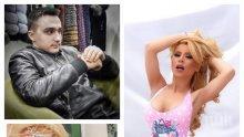 САМО В ПИК: Ето какво скара Тодор Батков-син и плеймейтката Ася Капчикова - полиция ги разтървава...
