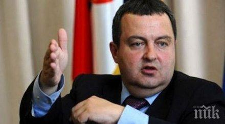 Ивица Дачич: Очакваме Западът да окаже натиск върху Прищина