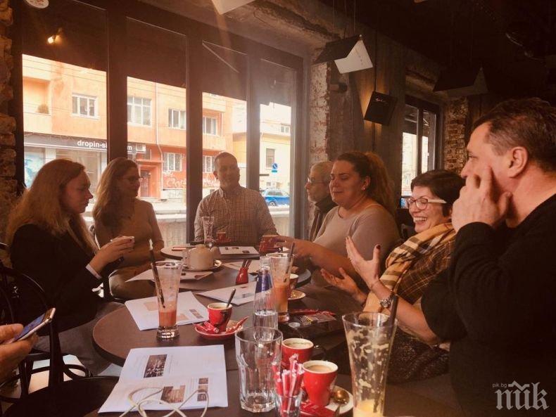 """Татяна Лолова, Белослава и Ламбо оценяват инициативата """"Коледа в писмо"""""""