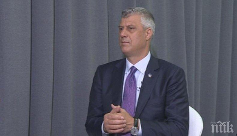 Президентът на Косово предложи всеобхватен договор за отношенията между Белград и Прищина