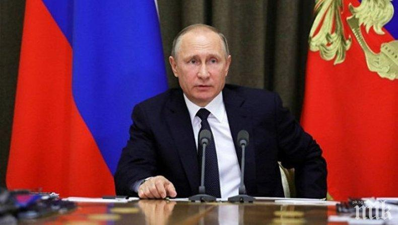 Путин лично показал на Меркел и Макрон какво е станало в Керченския проток