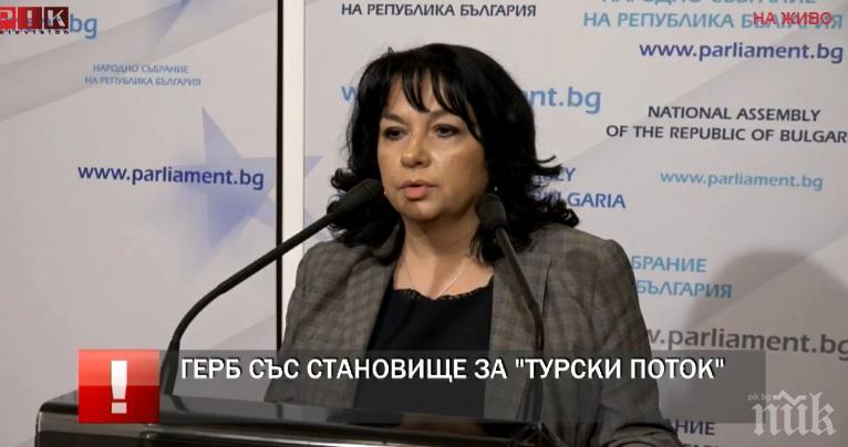ИЗВЪНРЕДНО В ПИК TV: Теменужка Петкова с коментар за одобрената енергийна стратегия (ОБНОВЕНА)