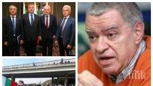 САМО В ПИК: Михаил Константинов с горещ коментар за спихването на протестите. Анализаторът излови по бели гащи бунтарите срещу цените на горивата
