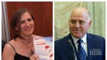 ПЪЛНО ПАДЕНИЕ: Лозан Панов се скри зад полата на жена си - Черния лебед брани любимия с кърваво писмо