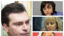 САМО В ПИК TV: Лидерът на столичната БСП Калоян Паргов разкрива кой е №1 в партията за кмет на София и какво се случва с бунтовете срещу Корнелия Нинова