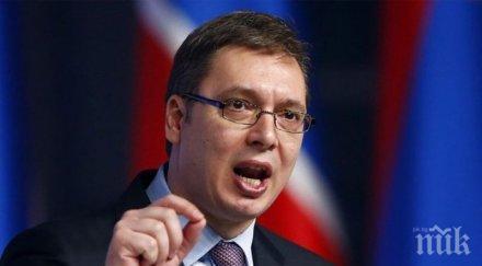 Сръбският президент поиска помощ от Китай