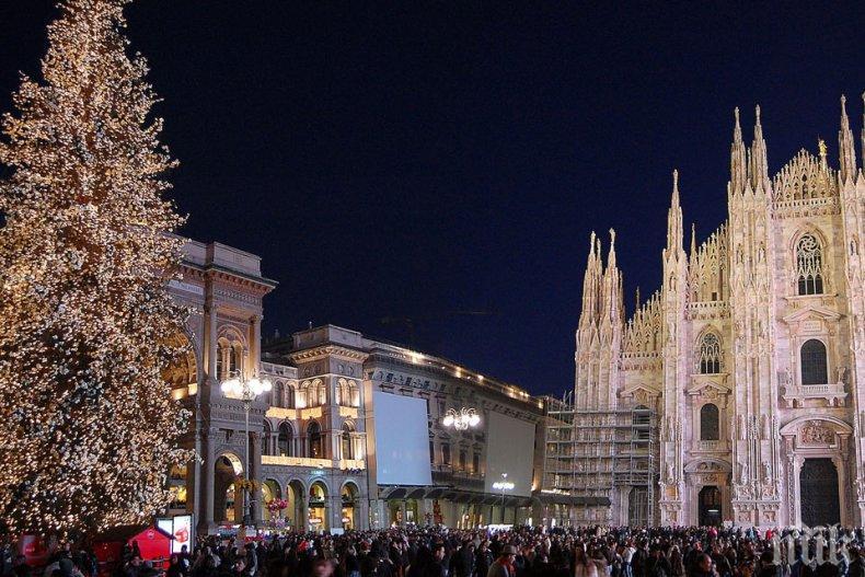 Така разбират Коледата в Италия - вижте феерията в Милано (ВИДЕО)