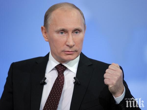 ГОРЕЩА ТЕМА: Путин: Военното положение в Украйна е въведено избирателно