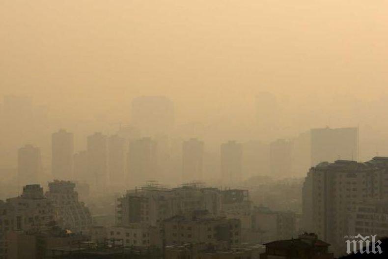 РЕШЕНО: Без часове навън при мръсен въздух