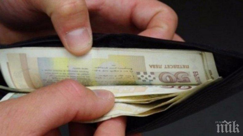 Средната работна заплата в Ловешко достигна 906 лв.